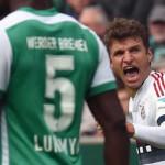 Bundesliga: Bayern Múnich derrota al Werder Bremen de Claudio Pizarro