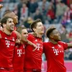 Bayern Múnich con goleada de 4-0 festeja victoria 1000 en la Bundesliga