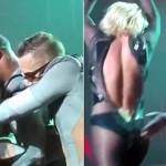 Britney Spears: se le rompe cierre en pleno show (VIDEO)