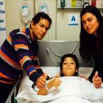 Operada de la columna niña Camila volverá a caminar
