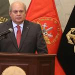 Pedro Cateriano defiende ascensos de altos mandos del Ejército
