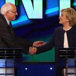 Hillary Clinton domina escena en primer debate demócrata