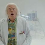 Volver al futuro: avance del corto con el Doctor Brown