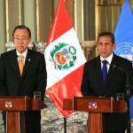 Presidente Humala: Perú ha mostrado al mundo su buen manejo económico