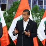 Humala: Nunca en el Perú se invirtió tanto en lo social