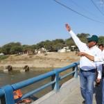 Fenómeno El Niño: Ollanta Humala supervisa obras de prevención