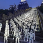 Star Wars: tropas imperiales invaden la Gran Muralla china