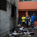Barrios Altos: incendio consume depósito de cables