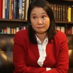 Critican pedido de Keiko Fujimori para separar a primera dama