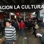 Metro de Lima: cierran temporalmente estación La Cultura