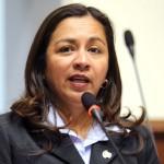 Marisol Espinoza: vicepresidenta renuncia al Partido Nacionalista
