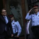 Cataluña: presidente declara ante la justicia por consulta soberanista