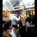 Metropolitano: dos hombres protagonizan pelea en bus (VIDEO)
