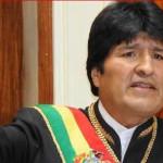 """Evo Morales: no es casual frase chilena """"por la fuerza o por la razón"""""""