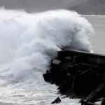 México: olas gigantescas se registran en Jalisco, Michoacán y Colima