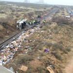 Honduras: catorce muertos al chocar bus y camión de bomberos