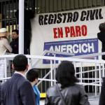 Chile: empleados públicos convocan paro nacional en apoyo a huelguistas