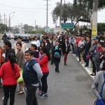 Paro de transportistas: Choferes piden garantías para trabajar