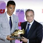 Cristiano Ronaldo supera a Messi al ganar cuatro Botas de Oro