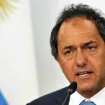 Argentina: Scioli desmiente rumores sobre su posible retiro