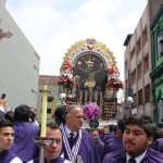 Señor de los Milagros realiza su cuarta procesión del año