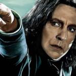 """Harry Potter: el profesor Snape huele a """"zapatos viejos"""""""