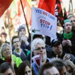 Alemania: miles protestan por acuerdo comercial con EE.UU.