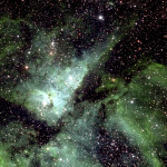 La Vía Láctea capturada en una fotografía de 46.000 millones de píxeles