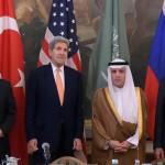 Viena: Países aliados de EUU y Rusia buscarán el alto al fuego en Siria