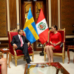 Princesa Victoria de Suecia se reunió con presidente Ollanta Humala