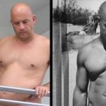 Vin Diesel sorprende con prominente barriga (VIDEO)