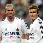 Beckham y Zidane volverán a vestirse de corto en partido benéfico
