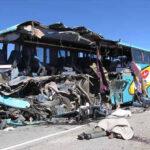 Cinco muertos tras despiste de un bus en Huancavelica
