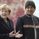 Merkel aboga por reanudar diálogo Chile-Bolivia por salida al mar
