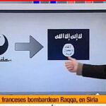 TV española confunde emblema de Al Qaeda con el de Star Wars (Video)