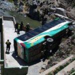 Arequipa: Un muerto y 21 heridos en accidente en valle del Colca