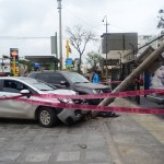 Miraflores: Un muerto y un herido en choque múltiple