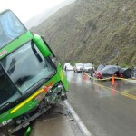 Pasco: Un muerto y 4 heridos en accidente de tránsito