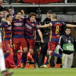 Crónica de la fiesta que armó Barcelona en el Bernabéu