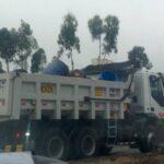 Panamericana Sur: Camiones volcados causan gran congestión vehicular