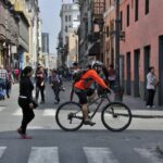 Centro de Lima: Así vivieron un día sin auto en noviembre