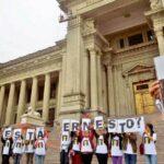 Familiares de desaparecido estudiante Castillo Páez piden justicia