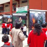 Apurímac: Exposición fotográfica cautiva a escolares de Abancay