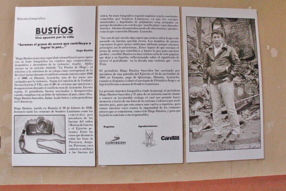 Homenaje Hugo Bustíos Crónica Viva 13