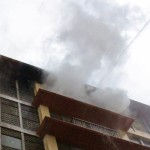 Centro Histórico de Lima: Voraz incendio consume departamento