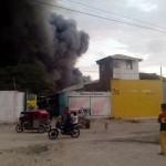 Piura: Incendio destruye fábrica procesadora en Sullana