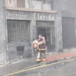 Navidad: 60 incendios controlaron los bomberos en Nochebuena