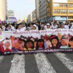 #25N: Protestan por la violencia contra la mujer