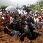 Al menos 75 muertos en deslizamiento de tierra en Myanmar