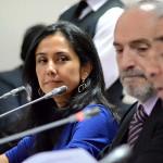 Nadine Heredia no respondió preguntas sobre caso agendas
